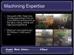 machining expertise