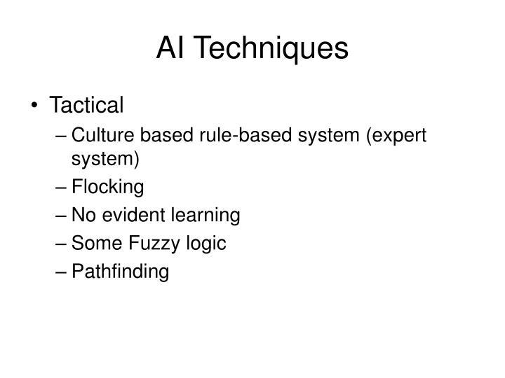AI Techniques