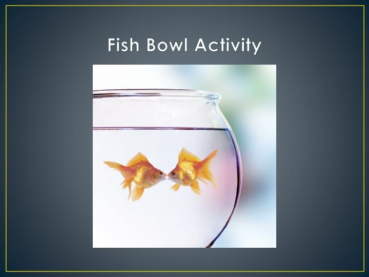 Fish Bowl Activity