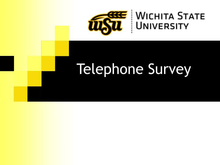 Telephone Survey