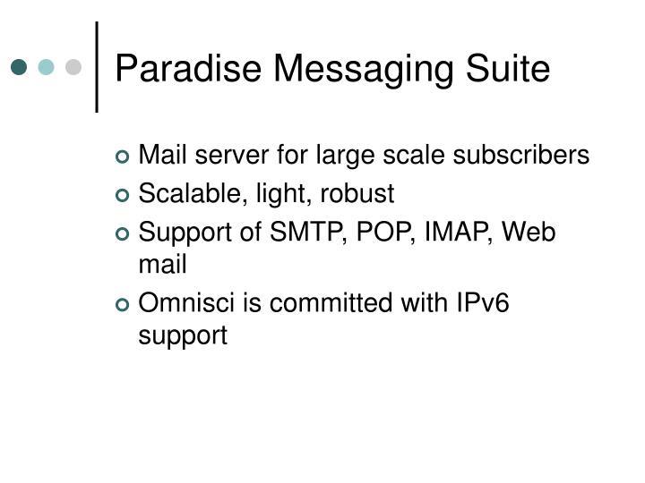 Paradise Messaging Suite