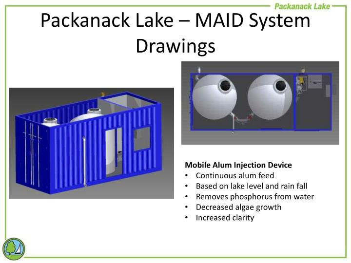 Packanack Lake – MAID System Drawings