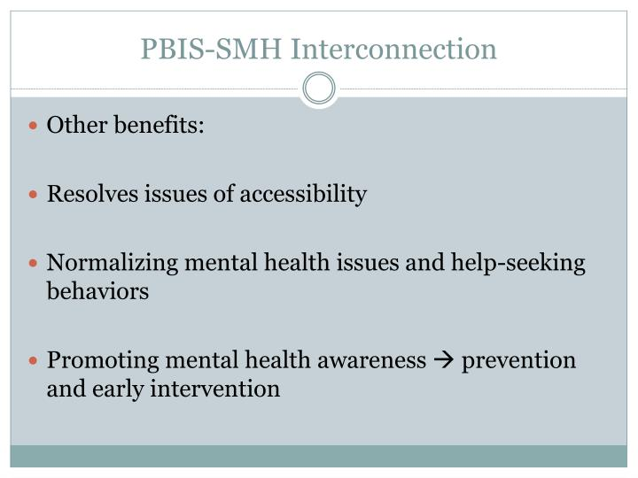 PBIS-SMH Interconnection