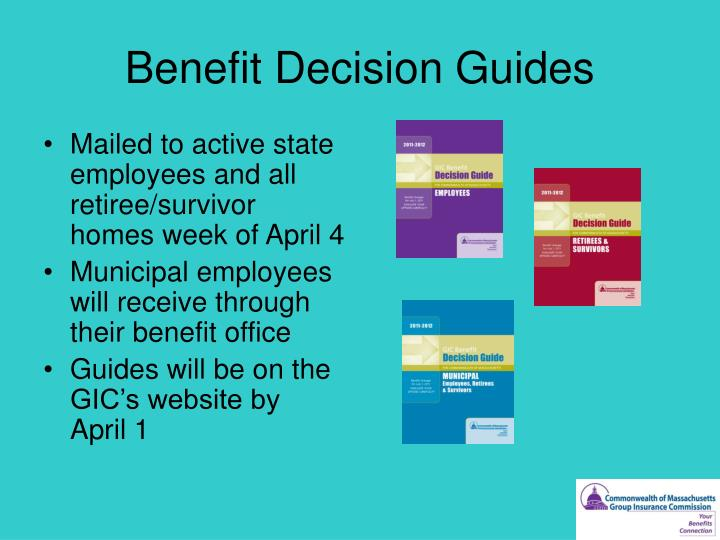 Benefit Decision Guides