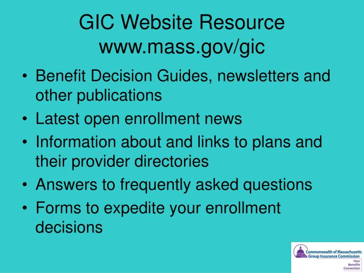 GIC Website Resource