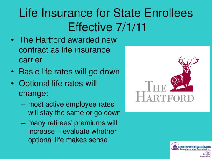 Life Insurance for State Enrollees