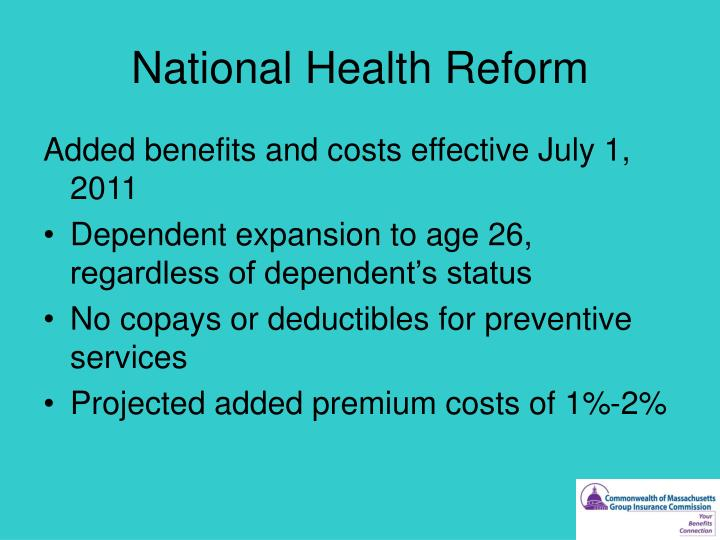 National Health Reform