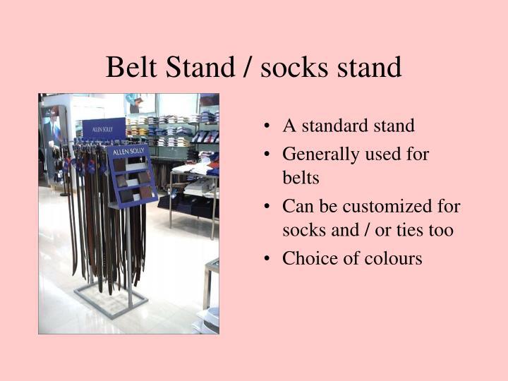Belt Stand / socks stand