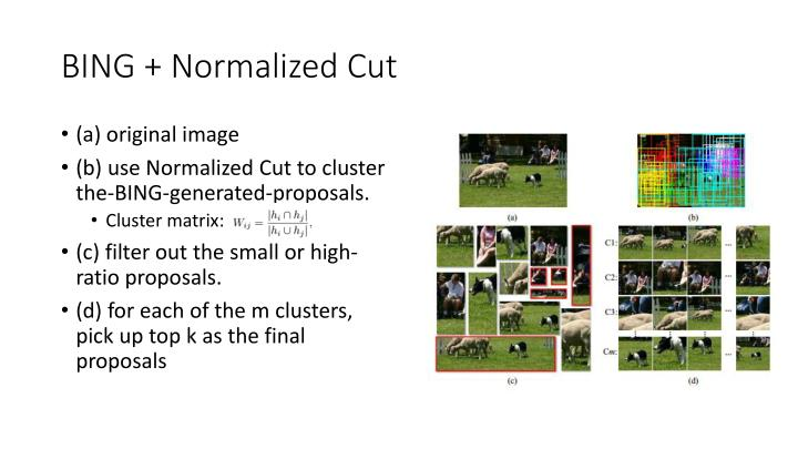 BING + Normalized Cut