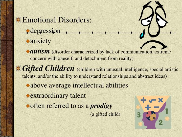 Emotional Disorders: