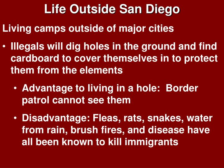 Life Outside San Diego