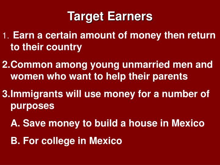 Target Earners
