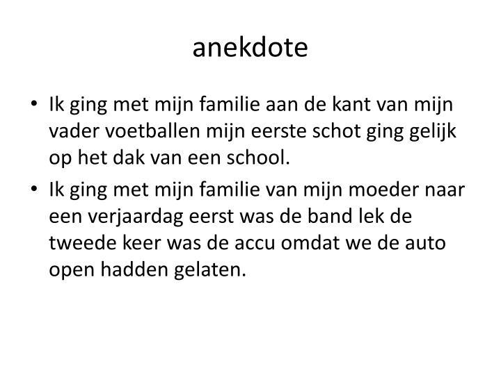 anekdote