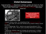 child detainees