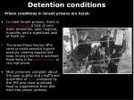 detention conditions