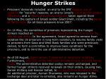 hunger strikes