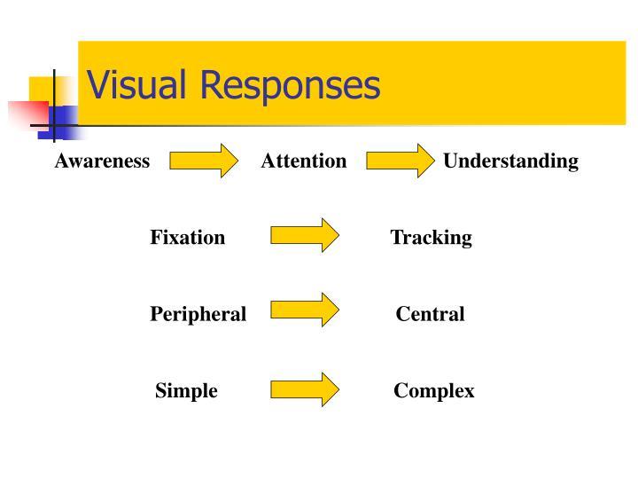 Visual Responses