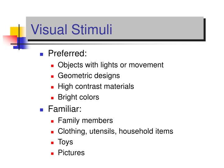 Visual Stimuli