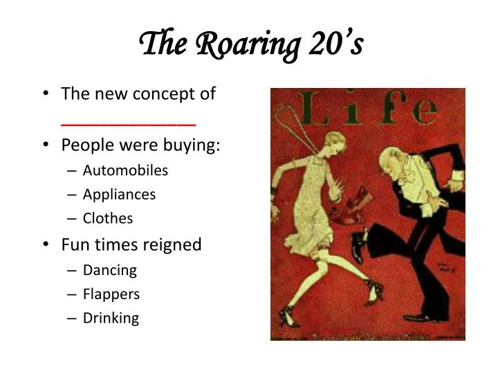 The roaring 20 s