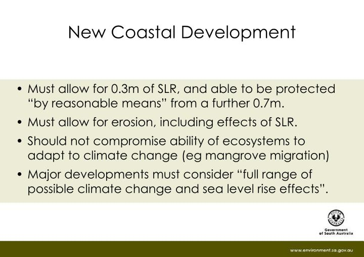 New Coastal Development