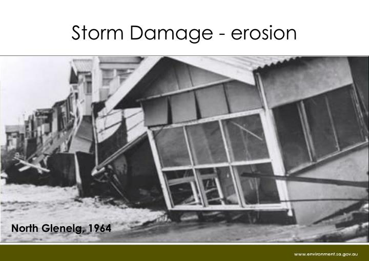 Storm Damage - erosion