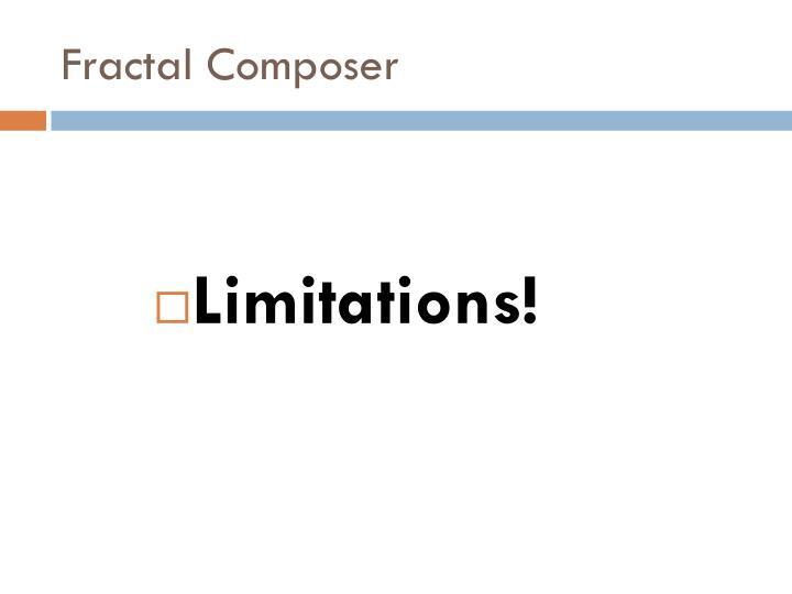 Fractal Composer