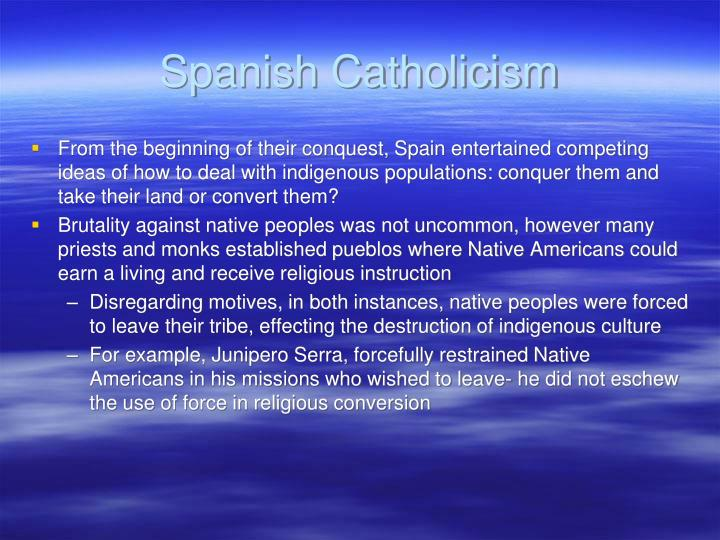 Spanish catholicism