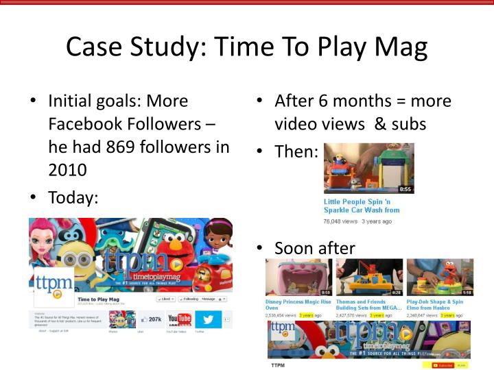 Case Study: Time To Play Mag