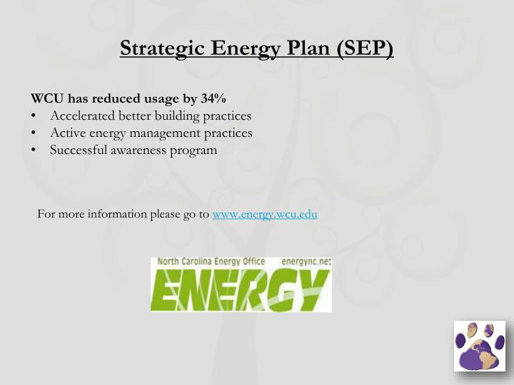 Strategic Energy Plan (SEP)