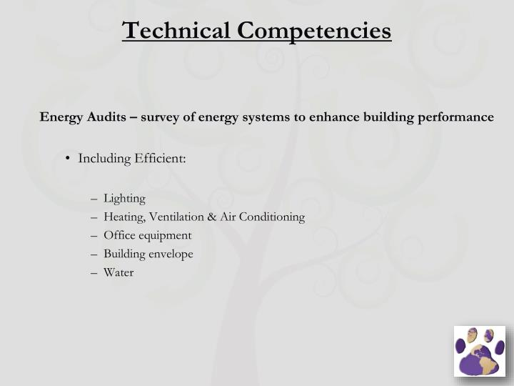 Technical Competencies