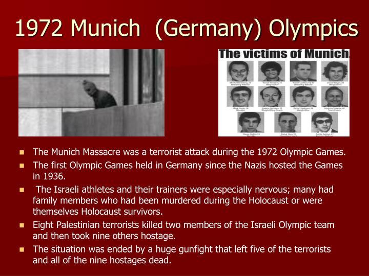 1972 Munich  (Germany) Olympics