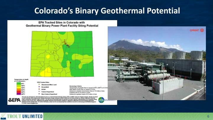Colorado's Binary Geothermal Potential