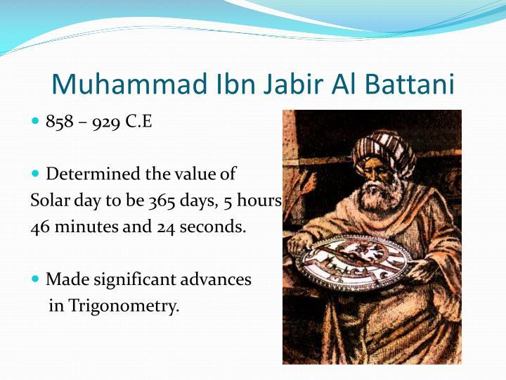 Muhammad Ibn Jabir Al