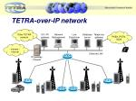 tetra over ip network