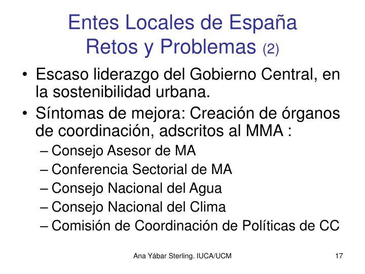 Entes Locales de España