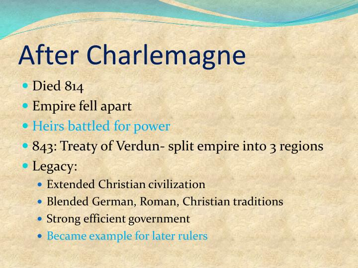 After Charlemagne