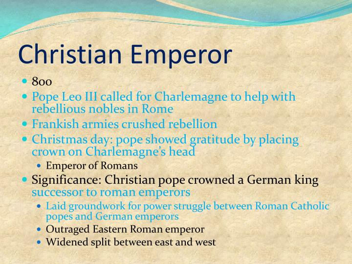 Christian Emperor