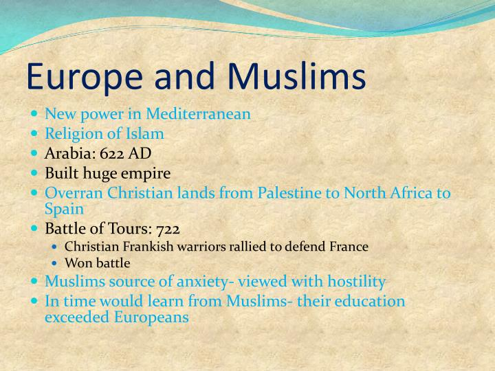 Europe and Muslims