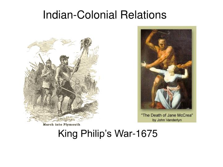 Indian-Colonial Relations