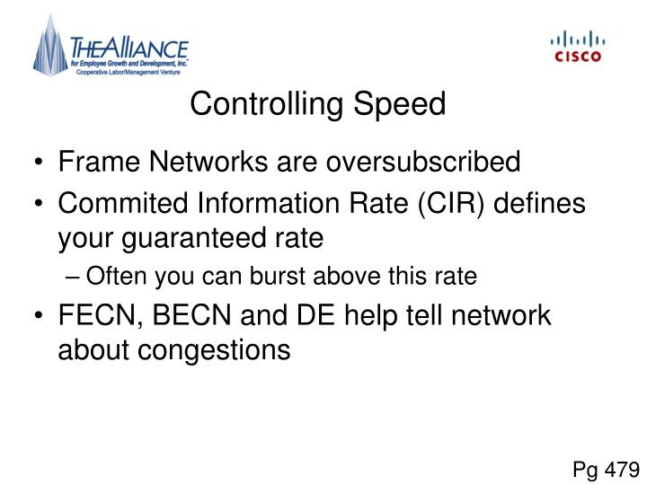 Controlling Speed