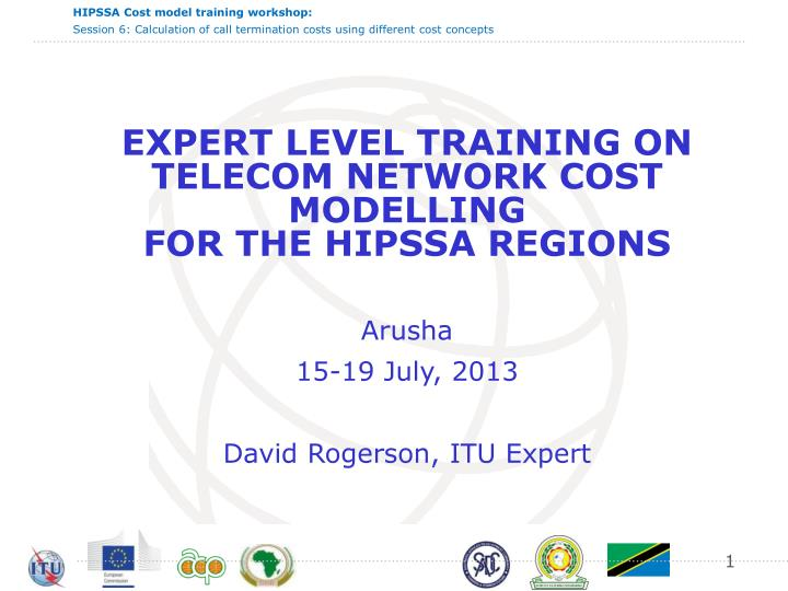 EXPERT LEVEL TRAINING ON