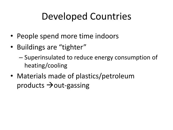 Developed Countries