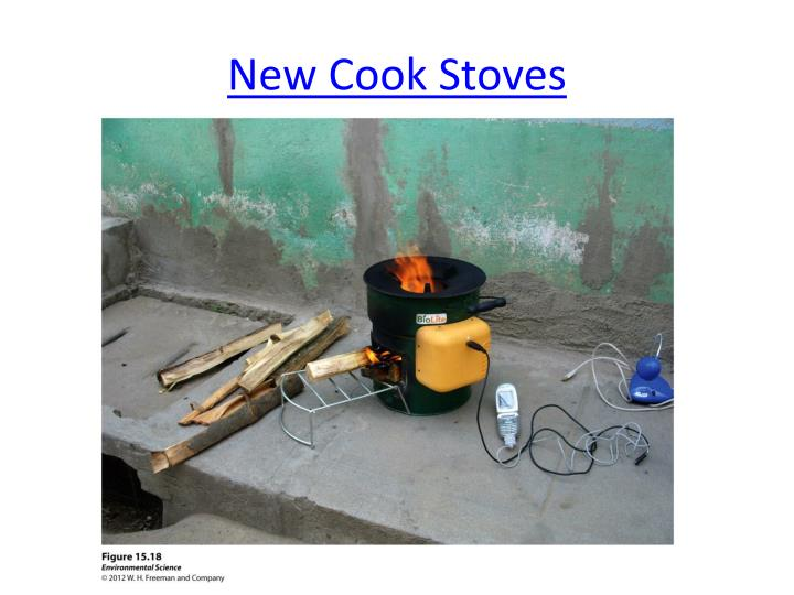 New Cook Stoves