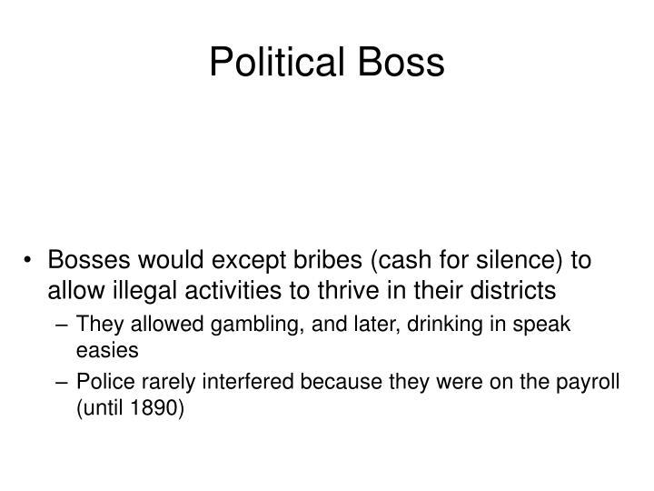 Political Boss