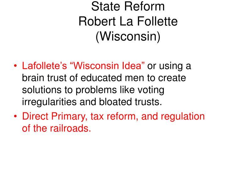 State Reform