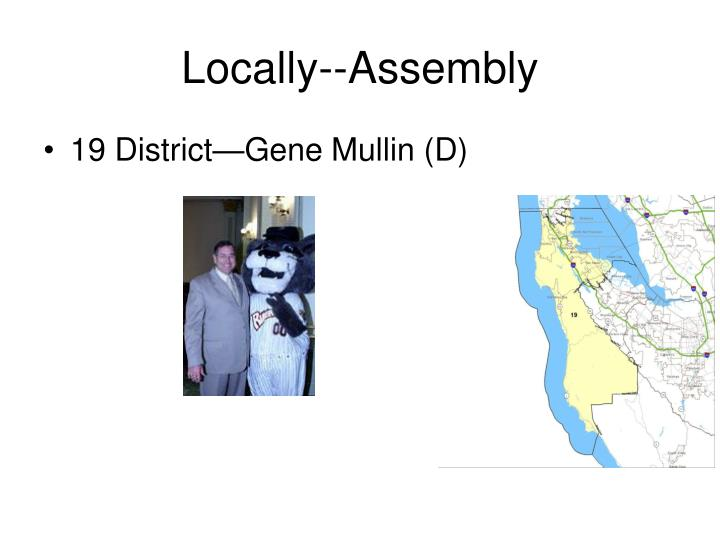 Locally--Assembly