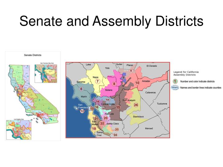 Senate and Assembly Districts