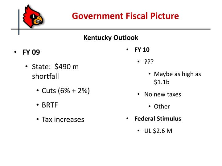 Government Fiscal Picture