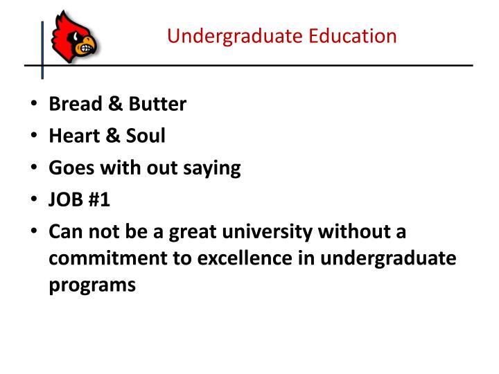 Undergraduate Education