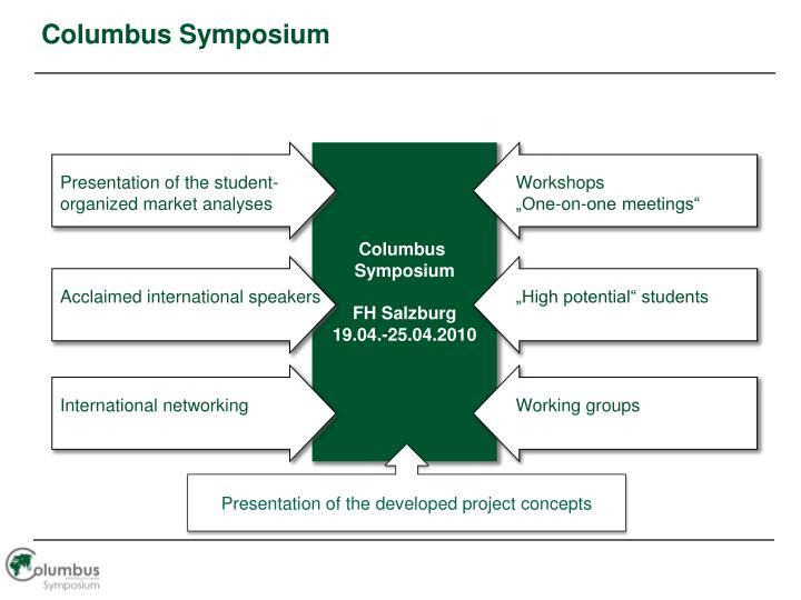 Columbus Symposium